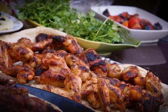 chicken high protein