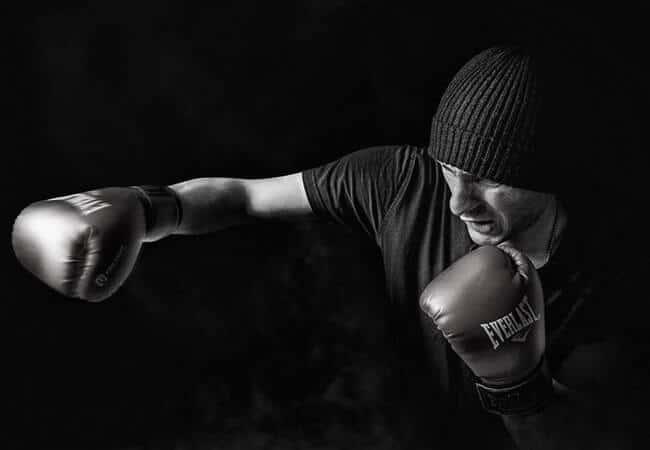 men strength training